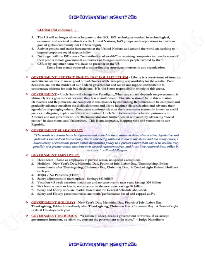 Presidential Policies Page 17 of 27