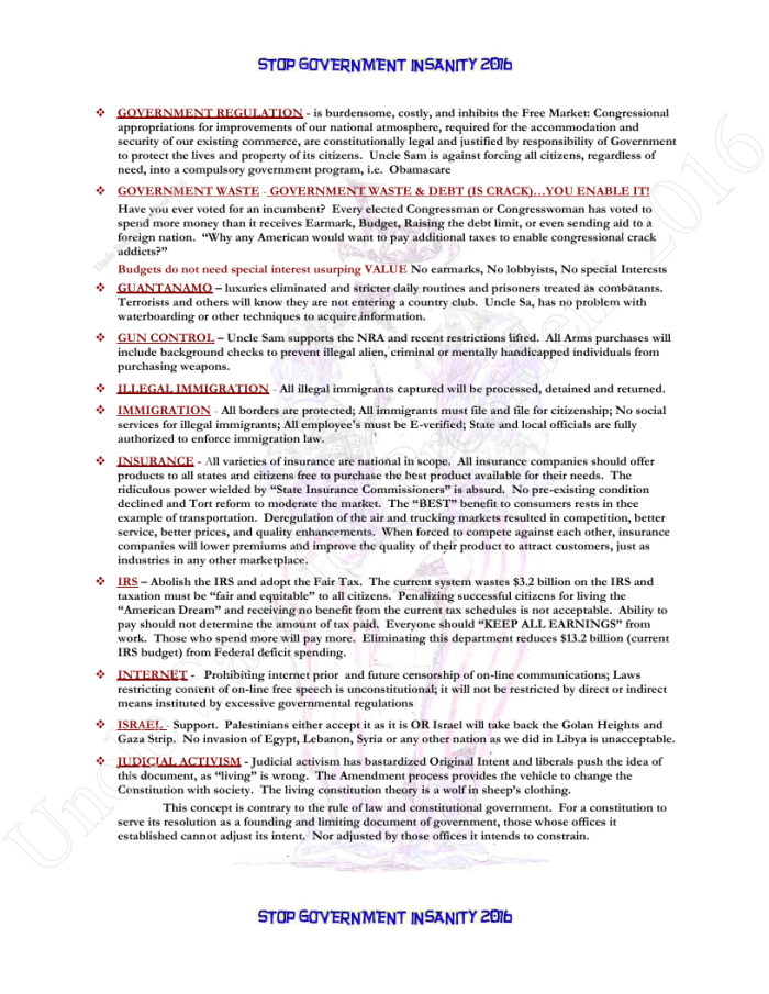 Presidential Policies Page 18 of 27