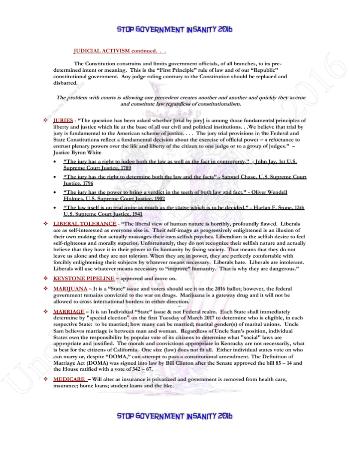 Presidential Policies Page 19 of 27