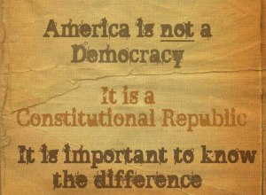 REPUBLIC not democracy