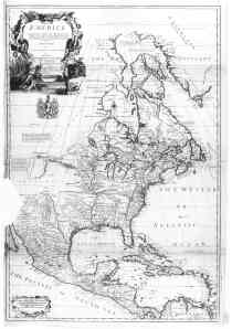 1710 map of the US