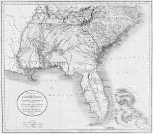 1806  map of the US