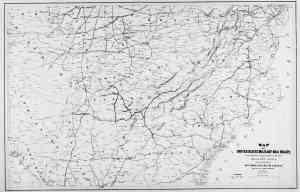 1866 railroad map