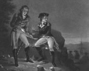 Benedict Arnold Meets With Major John Andre To Betray Americans — 1780