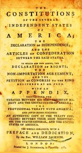 cover page...the articles of confederation