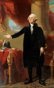 Washington lansdowne portait